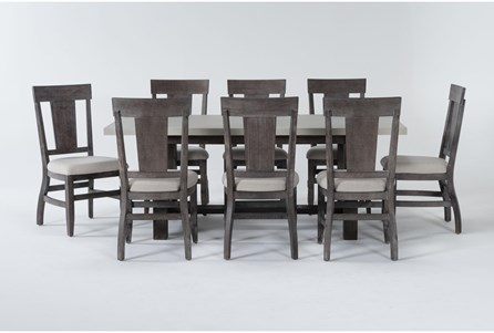 Anders 9 Piece Rectangle Dining Set - Main