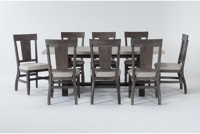 Anders 9 Piece Rectangle Dining Set - 360