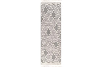 24X35 Rug-Talulah Grey Diamonds