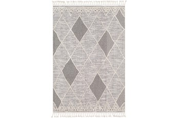 63X87 Rug-Talulah Grey Diamonds