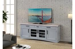 Americana Dove Modern 76 Inch Tv Console