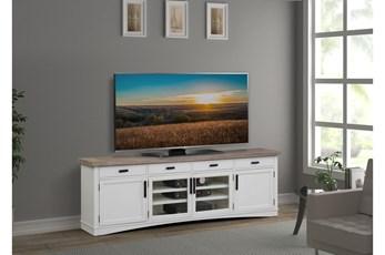 Americana Cotton Modern 92 Inch Tv Console