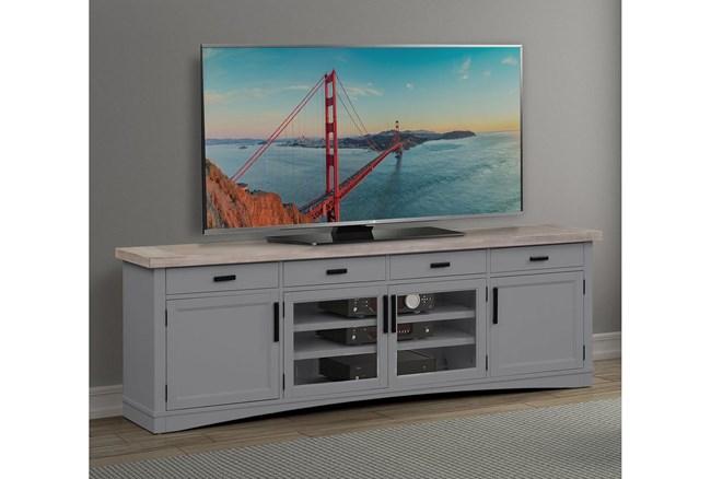 Americana Dove Modern 92 Inch Tv Console - 360