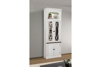 Provence 32 Inch Glass Door Cabinet