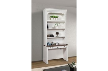 """Provence 2Pc Library 40"""" Desk With Hutch"""