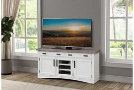 Americana Cotton Modern 63 Inch Tv Console