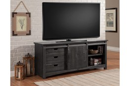 Durango 76 Inch Console With Sliding Door