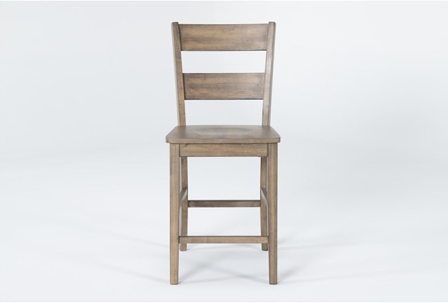 "Matias Brown 40"" Counter Stool - 360"