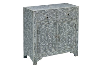 Puccini 2 Drawer 2 Door Cabinet