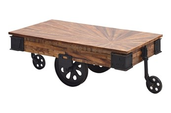 Cayley Factory Cart Coffee Table