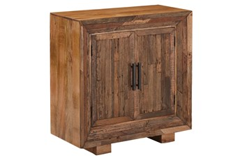 Uptown Rustic Railroad Tie Framed Chest