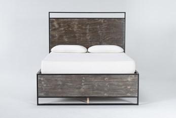 Urban Loft Eastern King Panel Bed