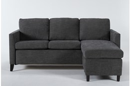 Mikayla Graphite Queen Plus Sofa Sleeper Chaise