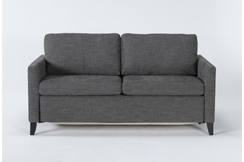 "Mikayla Graphite 70"" Queen Sofa Sleeper"