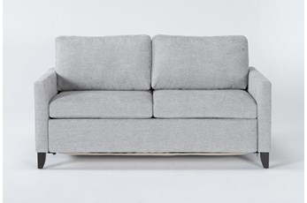 "Mikayla Smoke 70"" Queen Sofa Sleeper"