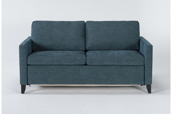 "Mikayla Teal 70"" Queen Sofa Sleeper"