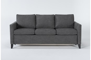 Mikayla Graphite Queen Plus Sofa Sleeper