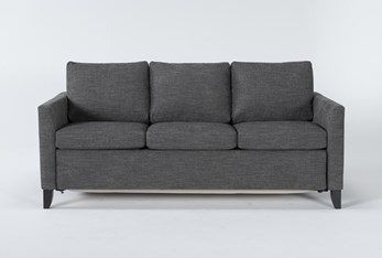 Mikayla Graphite Queen Plus Sofa Sleeper