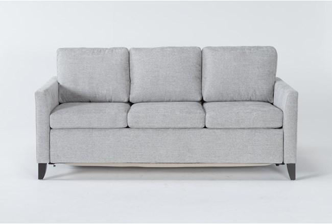 Mikayla Smoke Queen Plus Sofa Sleeper - 360