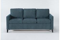 Mikayla Teal Queen Plus Sofa Sleeper