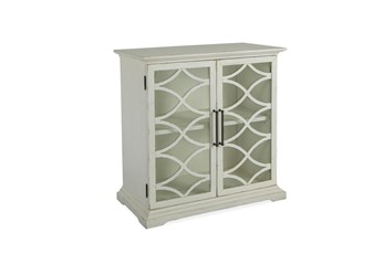 Galena White 2 Door Console