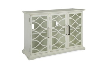 Galena White 3 Door Console