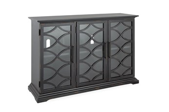 Galena Weathered Midnight 3 Door Console