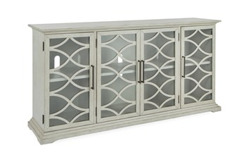Galena Grey 4 Door Console