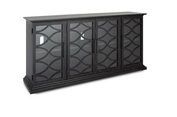 Galena Weathered Midnight 4 Door Console