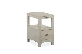 Boonville Natural Chairside Table