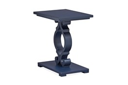 Cliffport Weathered Navy Chairside Table