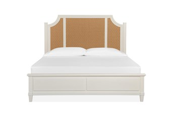 Sausalito Queen Woven Arched Bed