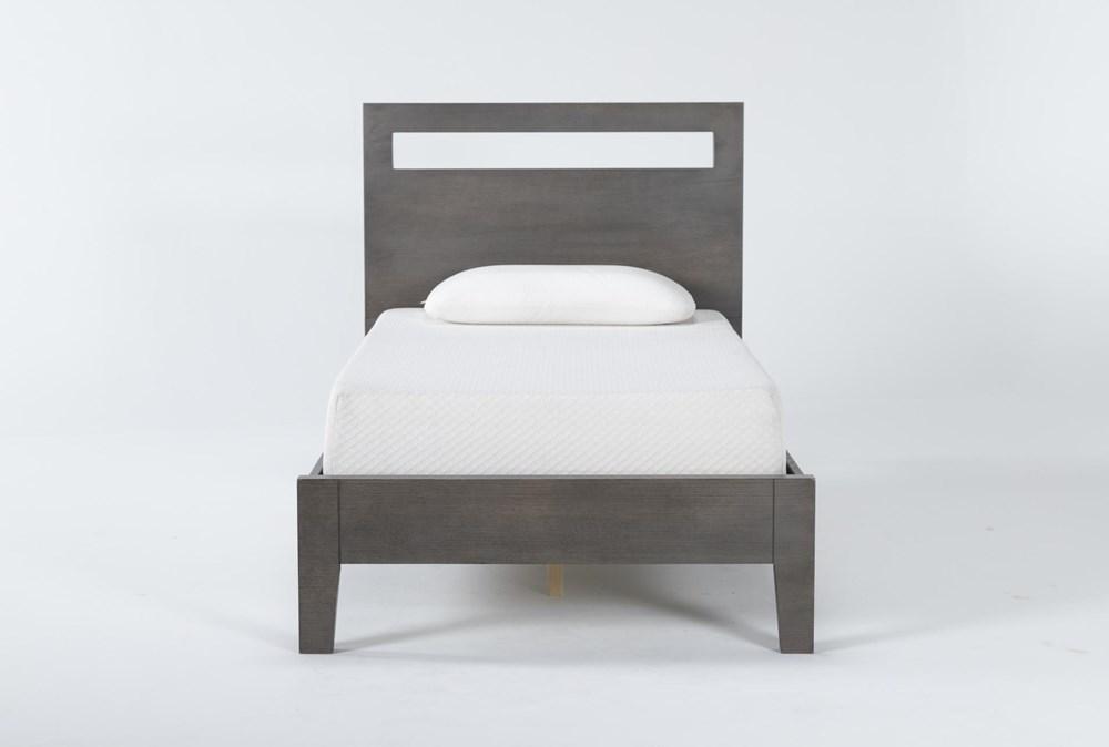Gaven Grey Twin Panel Bed