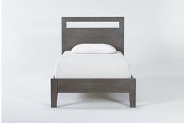 Gaven Grey Twin Panel Bed