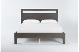 Gaven Grey Queen Panel Bed