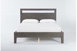 Gaven Grey California King Panel Bed