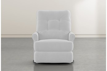 Marilee Grey Power Swivel Glider Recliner