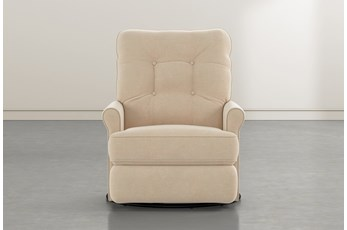 Marilee Almond Power Swivel Glider Recliner