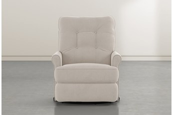 Marilee Taupe Power Swivel Glider Recliner