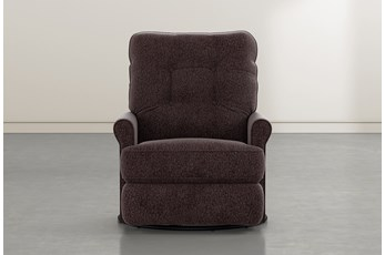 Marilee Coffee Power Swivel Glider Recliner