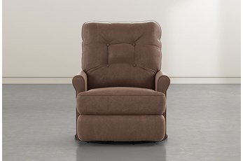 Marilee Brown Power Swivel Glider Recliner