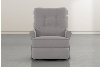 Marilee Ash Power Swivel Glider Recliner
