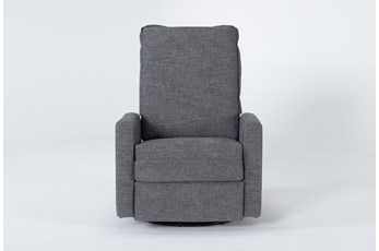 Baxter Power Swivel Glider Recliner With Power Headrest