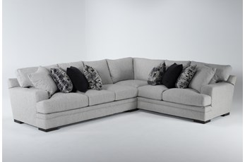 "Arlen Putty 2 Piece 104"" Sectional With Left Arm Facing Sofa"