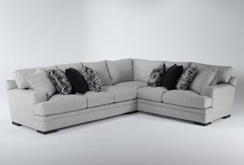 """Arlen Putty 2 Piece 104"""" Sectional With Left Arm Facing Sofa"""