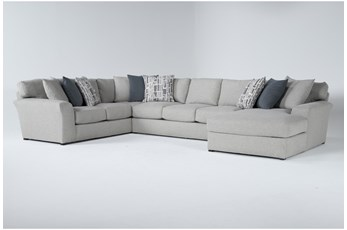 "Belmont 3 Piece 158"" Sectional With Right Arm Facing Chaise"