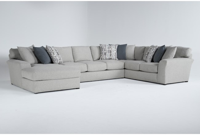 """Belmont 3 Piece 158"""" Sectional With Left Arm Facing Chaise - 360"""
