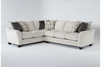 """Soco 2 Piece 130"""" Sectional With Right Arm Facing Sofa"""