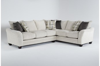 """Soco 2 Piece 130"""" Sectional With Left Arm Facing Sofa"""