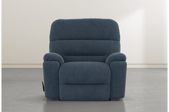 Judson Denim Rocker Recliner